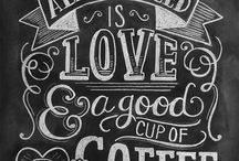 chalkboards & coffeeboards