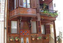 Eski Türk evleri