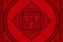 Czakra 1 - czerwona / czakry