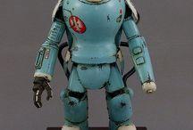 Robots scifi future mecha stuff