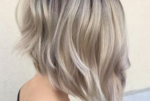 Blonde hair & cut