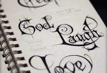 | Typo inspiration II - (hand)lettering |