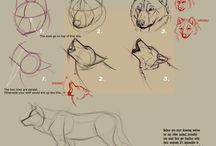 Wolves Drawing Tutorials