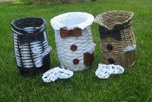 papírové pletení / Pletení u papíru