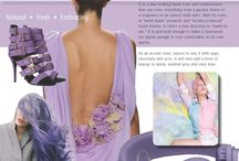 "Color Alert - August 2014 / Color Marketing Group presents ""Hechizo"" – A season-less, mid-range lilac that offers a blast of color that crosses time and geographic borders. It is a hue evoking hand-craft and reminiscence that can color everything from a garden flower to a fragrance to an oxford cloth shirt. With its roots in ""hand-made"" products and ""locally produced"" trend stories, it offers a new direction in ""made by me.""  Sign up to receive CMG's monthly Color Alerts http://tinyurl.com/q88r74c"