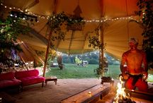 Rustic Bohemian Weddings / Ever dreamt of the perfect rustic, down to earth and boho chic wedding? Featuring traditional pole marquees and stunning tipis.   www.abbasmarquees.co.uk