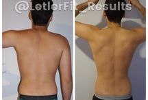 Upper Body Burn Results /  Upper Body Burn is a 12 week program that can be down at home or at the gym! All you need is a set of dumbbells between 3-10 pounds and a set of resistance bands as well as the occasional yoga mat! This program can also be done in conjunction with the other LetlerFit Programs.
