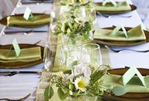 DECORATE: Tablescape / by Tina Gray