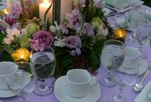 Table decor / by Brenda DeArmond