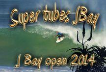 Surfing Super Tubes Jeffreys Bay / #surfing