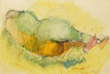 Lisbeth frandsen olie pastel
