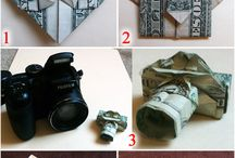 Origami money gifts / Money