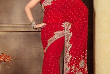 Indian Party Wear Sarees / The outstanding collection of sarees are present especially the now a days party wear sarees are more attractive and easy to wrap..