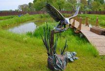 Ptaki z metalu - orzeł