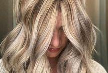 Vaalea hiusväri