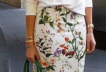 Faldas elegantes.