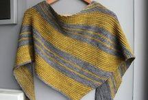 Bryum un châle bicolore tricot