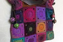 Crochet Bags, Totes, Baskets