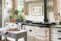 cottage country kitchens