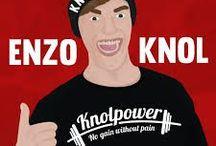 Enzoknol / Knolpower! Dikke vette peace! Enzoknol is een mega populaire vlogger