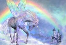 Rainbows and unicorns party