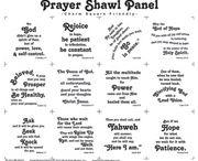 Prayer shawl ideas