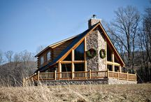Our Laughing Place Log Home by Beaver Mountain Log Homes