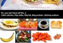 Fitness, food and health