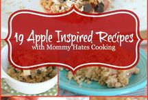 Apple Recipes / a collection of delicious recipes with apples as the main ingredient.