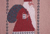 Cross stitch THE PRAIRIE SCOOLER