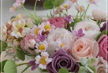 【お誕生日のお祝花】プリザーブドフラワー / Flower noteのプリザーブドフラワー。 お誕生日のお祝い用アレンジのギャラリーです