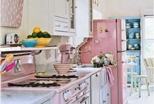 Retro kitchen ideas / My new kitchen. / by Jude's Vintage