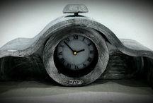 διακοσμητικα κερια / ρολόι