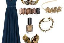 Ravenclaw outfit / These smart looks will bring out the best Ravenclaw in you. Normal outfits or amazing dresses for a Hogwarts feast!