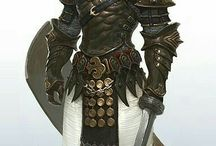 Knight and armor - Art