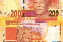 Billets Afrique du Sud / Les billets Afrique du Sud ayant circulation sont : 10, 20, 50, 100, 200 Rand. Depuis 2012, les nouveaux billets arborent le portrait de Nelson Mandela. Outre l'Afrique du Sud, le Rand est également en usage au Lesotho (avec le Loti), au Swaziland (avec le Lilangeni) et au Namibie (avec le Dollar namibien).