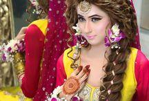 Mehndi looks (hair)