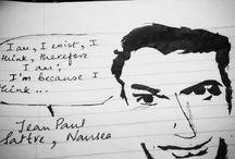 Doodles / Random Pen Sketches and Doodles.