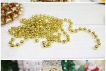 Новогодний и Рождественский декор. Зимние декорации.