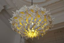 3DP Chandeliers / Chandeliers created by using 3D printing technology.