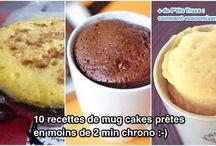 cuisine : mug cake