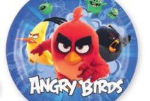 Angry Birds / Angry Birds  Party supplies for Angry Birds party théme