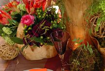 Woodsy Centerpieces / by Country Elegance