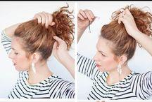 O QUE FAZER COM O MEU CABELO | Cacheados / Dicas de penteados para cabelos cacheados.  Para saber mais acesse:  www.carolvayda.com.br