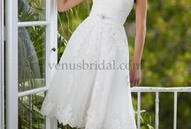 Short Wedding Dresses / Short wedding dresses at a discount price. Amara Bridal Boutique is located in West Chester Ohio. We ship worldwide