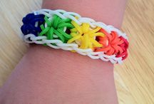 Rainbow Loom / Things we've created and great designs!