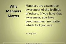 manners are sexy