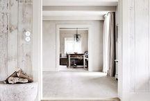 Whitewash floor