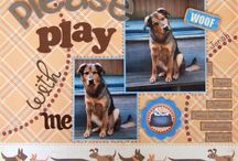 Dog scrapbooking