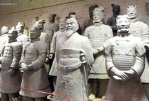 Terracotta Army, Xi'an, China / The Terracotta Army is a collection of terracotta sculptures depicting the armies of Qin Shi Huang, the first Emperor of China.